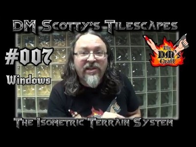 DM Scotty's TILESCAPES Game Terrain MEDIEVAL WINDOWS for D&D and Pathfinder #007