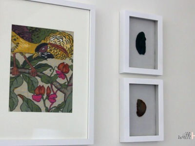 Easy Art: Framed Fabric | withHEART