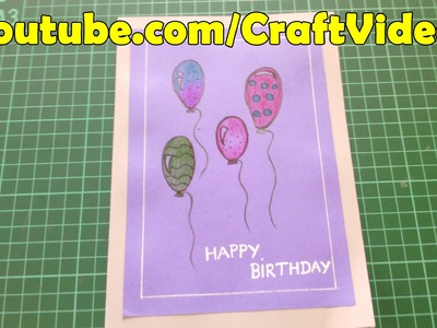 Easy Birthday Cards For Kids