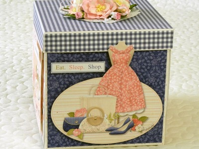 Explosion Box from Nitwit Collections using Dress Shoppe Collection
