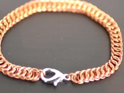 Half Persian 4-1 Bracelet Chainmail Tutorial