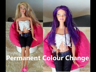How to Colour Your Dolls Hair Permanently