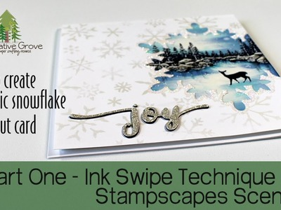 How to Create a Scenic Stampscapes Cutout Card - Part One