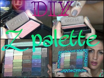 How to De-pot makeup and DIY Z Palette