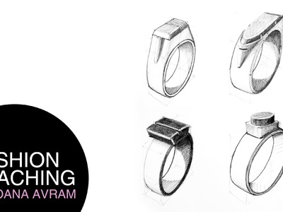 How to draw rings