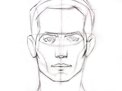 How to Draw the Head - Front View