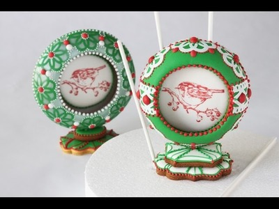 How to Make 3-D Cookie Snow Globes (Part 2 - The Insides and Assembly)
