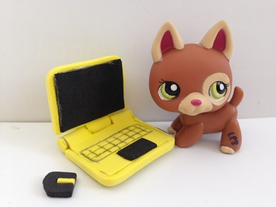 How to make a LPS Laptop. Computer: LPS accessories