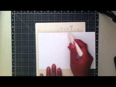 How to make an A2 gate fold card and a A2 S fold card with a 8 1.2 x 11 cardstock