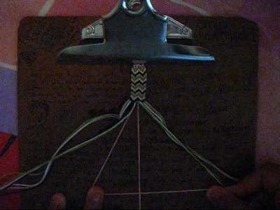 How to make friendship bracelets- Double arrowhead