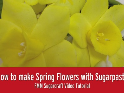 How to make Spring Flowers | FMM Sugarcraft