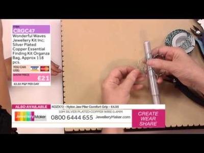 'How to Make Twisted Wire Jewellery': JewelleryMaker LIVE 26.08.2014