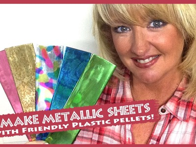 How to make your own Friendly Plastic sticks and sheets from Pellets