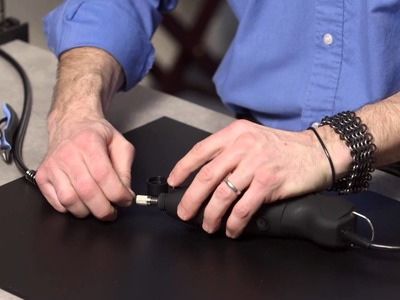 How to Set Up the Rotary Tool