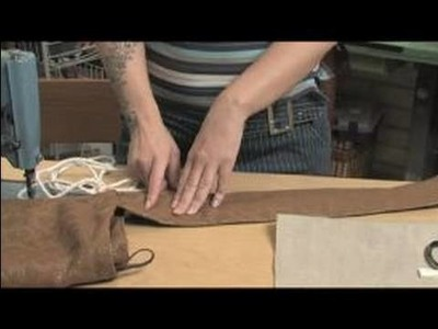 How to Sew a Messenger Bag : Strap Length for Sewing A Messenger Bag