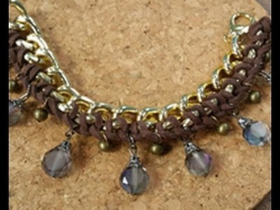 Katie Hacker Shows How To Combine Macramé with Chain on Beads, Baubles & Jewels (2312-3)