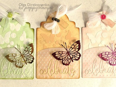 Lacy Butterfly - Gift Card Holder Tag