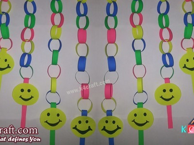 """Learn How to make Paper """"Wall Hanging"""" party decor 