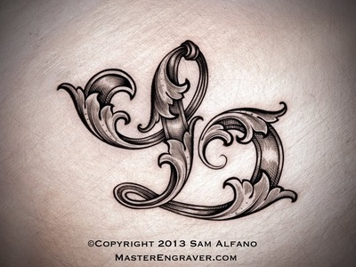 Lettering Techniques for Hand Engravers by Sam Alfano
