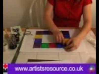 Make a Stained Glass Picture Frame - Glass Painting Project - Art and Craft