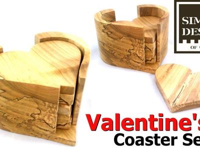 Make a Valentine's Day Coaster Set