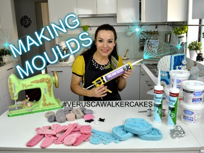 MAKING SILICONE MOULDS FOR FONDANT DECORATIONS