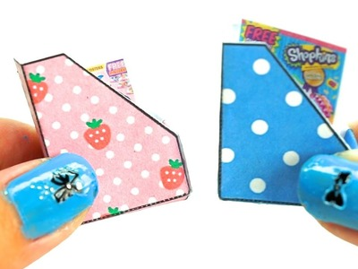 Miniature dollhouse magazine holder tutorial l Dollhouse DIY ♥