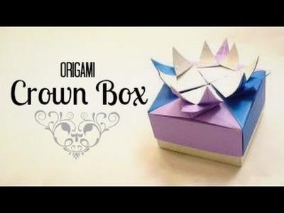 Origami Crown Box Instructions (Tadashi Mori)