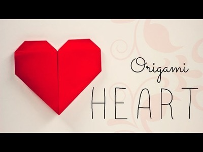 Origami Heart instructions (Francis Ow)