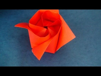 Origami Rose Instructions (Toshikazu Kawasaki)
