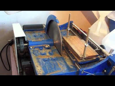 Part 1 of 2 Stone Cutting with Lapidary George Bajoras.m4v