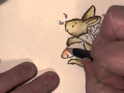 PB&J Quick Tip, Coloring Critters with Watercolor Pencils