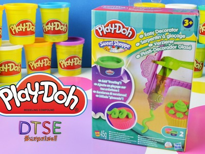 PLAY DOH EASY DECORATOR Sweet Shoppe Toy Review How-to use play dough DTSE Ditzy