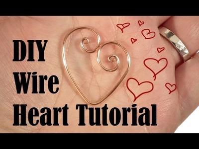 Quick Valentine's Wire Heart