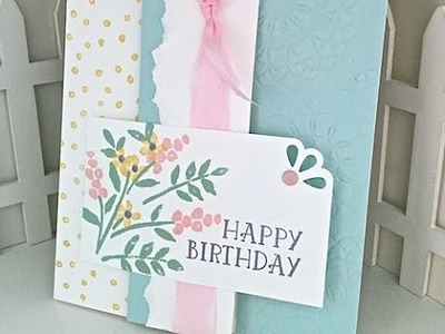 Simply Simple FLASH CARD 2.0 - Number of Years Birthday Card by Connie Stewart