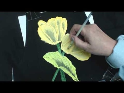 SUE GAIT USING PUFF PAINT AND FABRIC PAINT