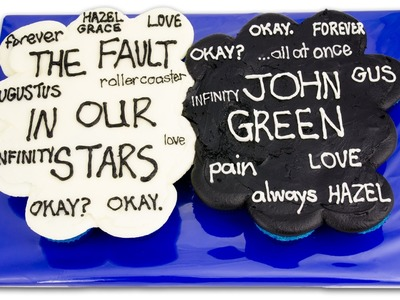 The Fault In Our Stars Pull Apart Cupcake Cake from Cookies Cupcakes and Cardio