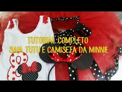 TUTORIAL COMPLETO DO TUTU DA MINNIE