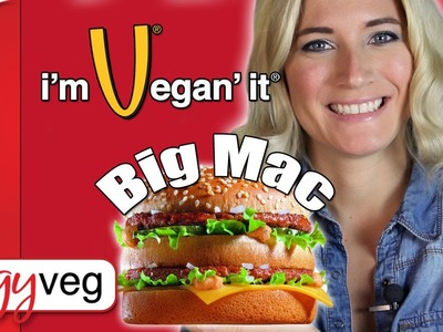 Vegan Recipe: Vegan Vegetarian Big Mac | Edgy Veg