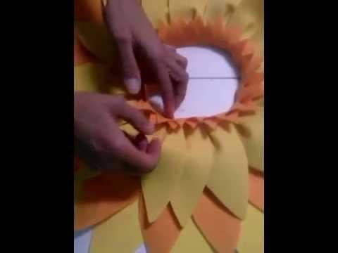 Video tutorial girasoles