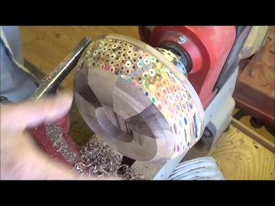 Woodturning at 54a. #42   A pencil Bowl