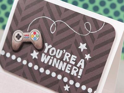 You're a Winner! (Boy Card) -- Make a Card Monday #257