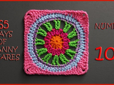 365 Days of Granny Squares Number 109
