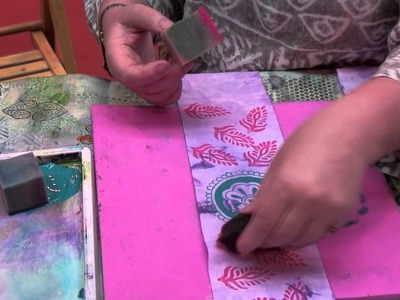 #79 How to Block Print with Colouricious Jamie Malden - Bonnie McCaffery VidCast