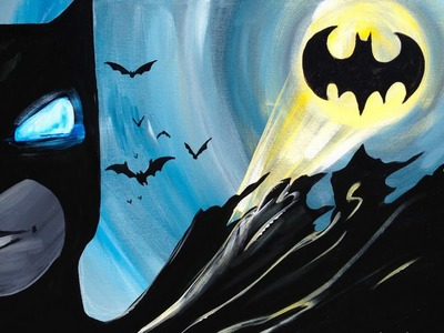 Batman Painting for Beginners The Art Sherpa
