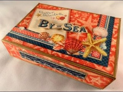 By the Sea Memory Book in A Box