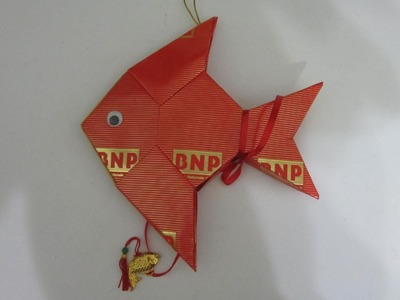 CNY TUTORIAL NO. 14 - How to make Red Packet (Hongbao) Pomfret