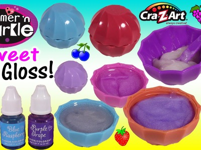Cra-Z-Art Shimmer 'n Sparkle DIY Sweet Lip Treats LIP GLOSS! Make 5 Yummy Flavors Colors! SHOPKINS