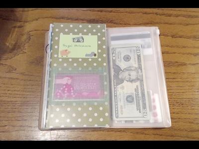 Dave Ramsey in Regular Size Traveler's Notebook | Part 1 | Wallet, Cash Envelopes & Financial Setup