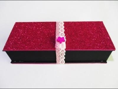DIY : #127 Glitter Pencil Case - GIFT ♥